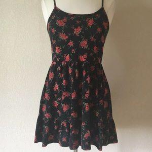 TOBI RED ROSE 🌹OPEN BACK MINI DRESS